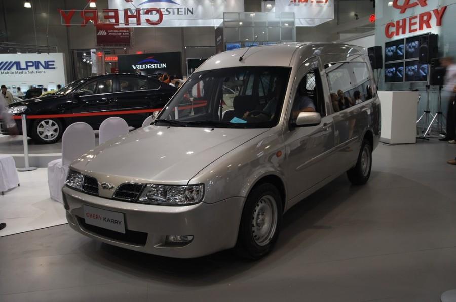 Chery Karry минивэн, 2006–2016, 1 поколение - отзывы, фото и характеристики на Car.ru