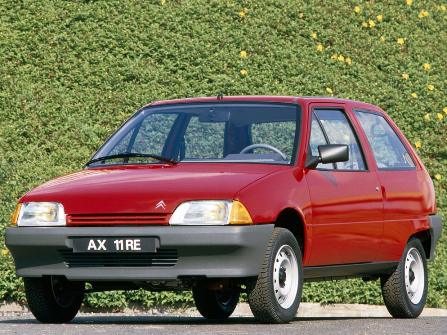 Citroen AX хетчбэк, 1986–1998, 1 поколение - отзывы, фото и характеристики на Car.ru