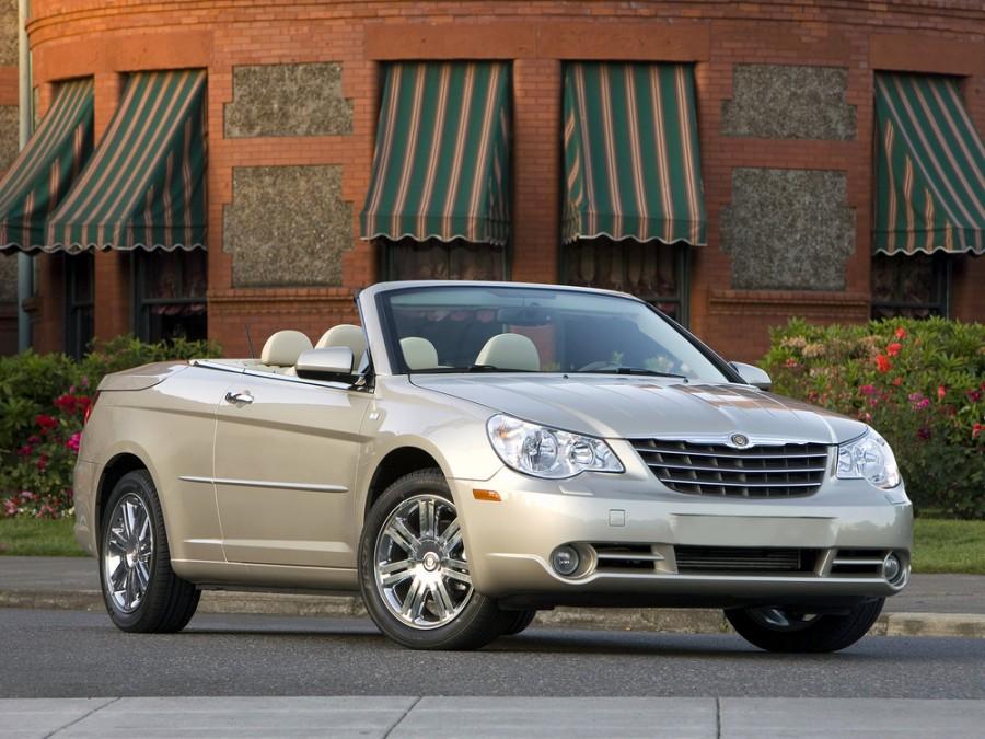 Chrysler Sebring кабриолет, 2007–2016, 3 поколение - отзывы, фото и характеристики на Car.ru