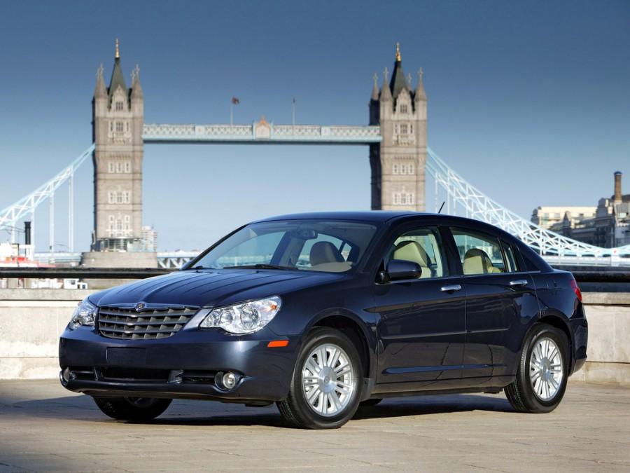 Chrysler Sebring седан, 2007–2016, 3 поколение - отзывы, фото и характеристики на Car.ru