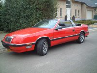 Chrysler Le Baron, 3 поколение, Кабриолет, 1986–1996