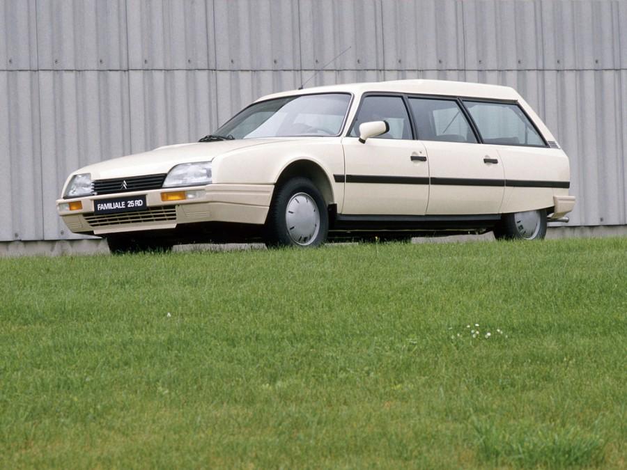Citroen CX Break универсал, 1983–1995, 2 поколение - отзывы, фото и характеристики на Car.ru