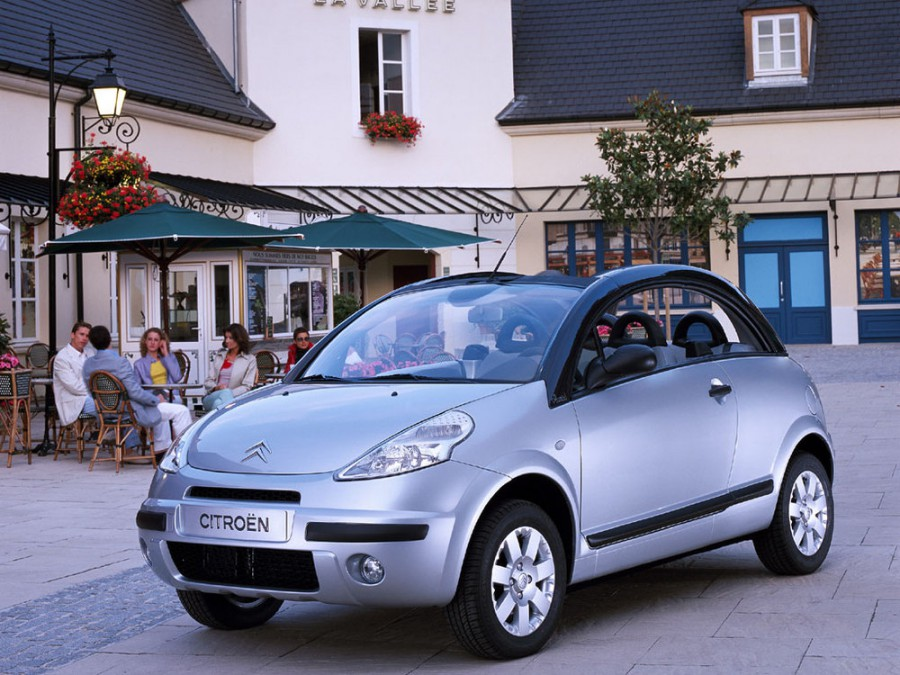 Citroen C3 Pluriel кабриолет, 2002–2010, 1 поколение - отзывы, фото и характеристики на Car.ru