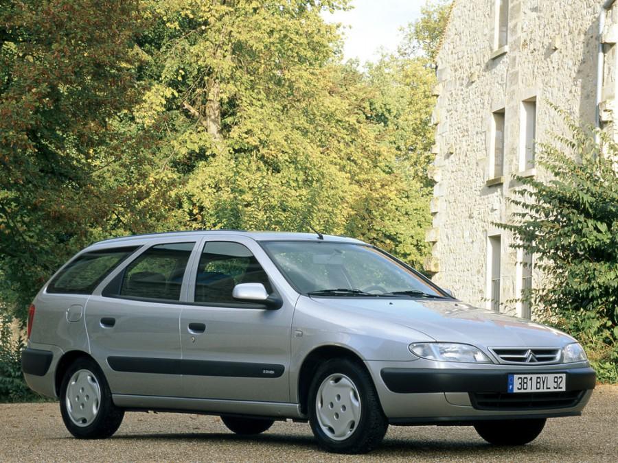 Citroen Xsara Break универсал, 1997–2000, 1 поколение, 1.8 MT (90 л.с.), характеристики