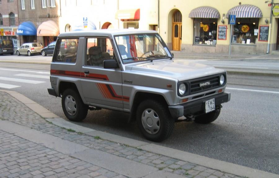 Daihatsu Rocky Hard top внедорожник, 1984–1987, 1 поколение - отзывы, фото и характеристики на Car.ru
