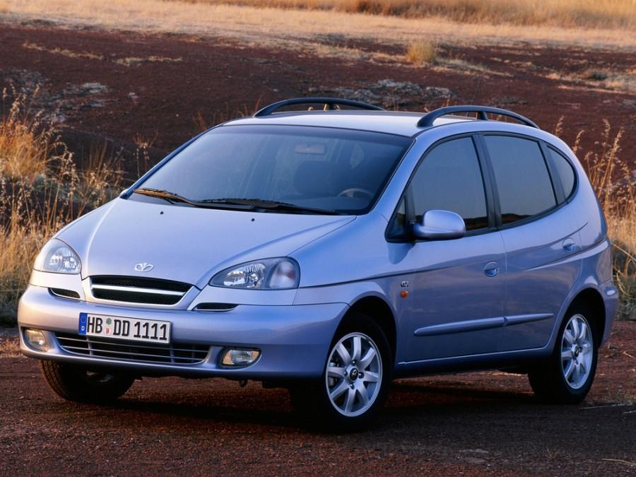 Daewoo Tacuma минивэн, 2004–2005, 1 поколение [рестайлинг], 2.0 AT (121 л.с.), характеристики