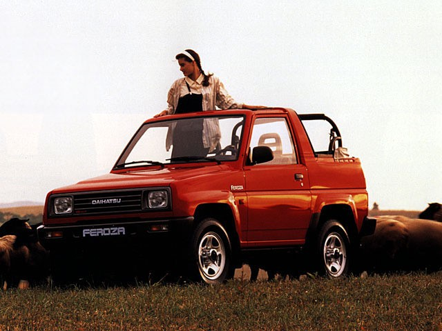 Daihatsu Feroza Soft top кабриолет, 1989–1994, 1 поколение - отзывы, фото и характеристики на Car.ru