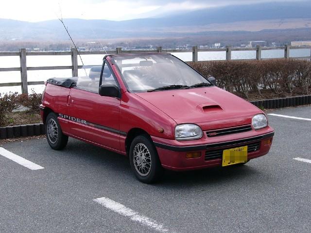 Daihatsu Leeza кабриолет, 1986–1992, 1 поколение - отзывы, фото и характеристики на Car.ru