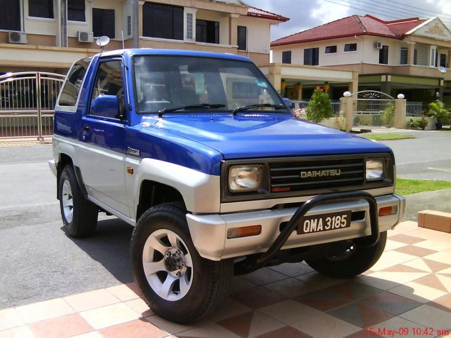 Daihatsu Feroza Hard top внедорожник, 1989–1994, 1 поколение - отзывы, фото и характеристики на Car.ru