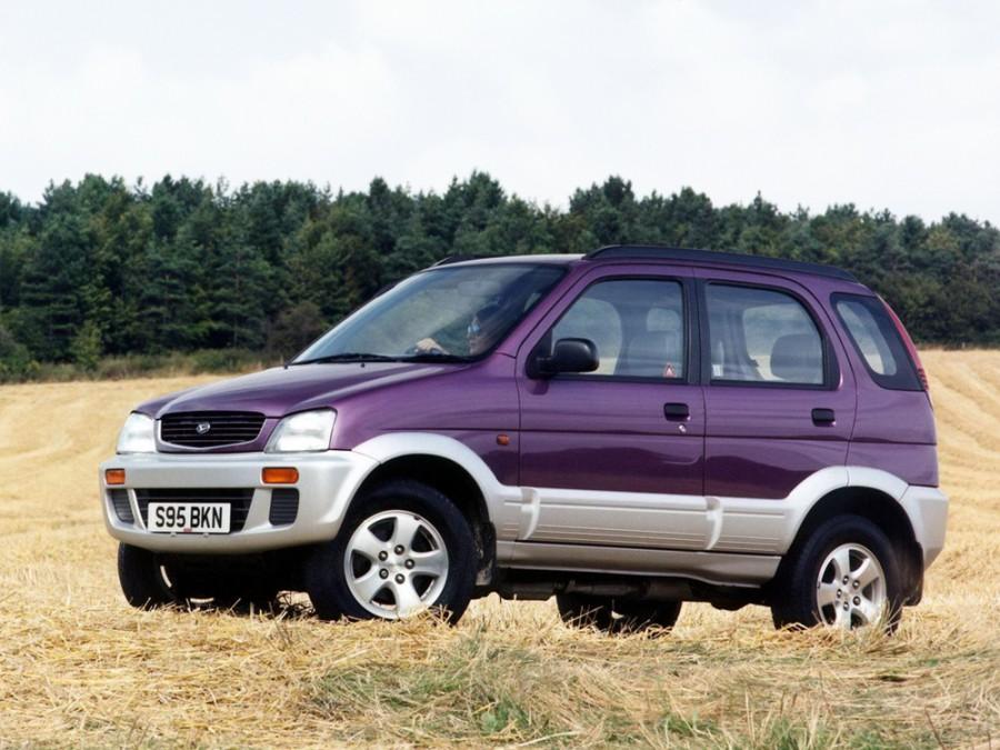 Daihatsu Terios кроссовер, 1997–2000, 1 поколение - отзывы, фото и характеристики на Car.ru
