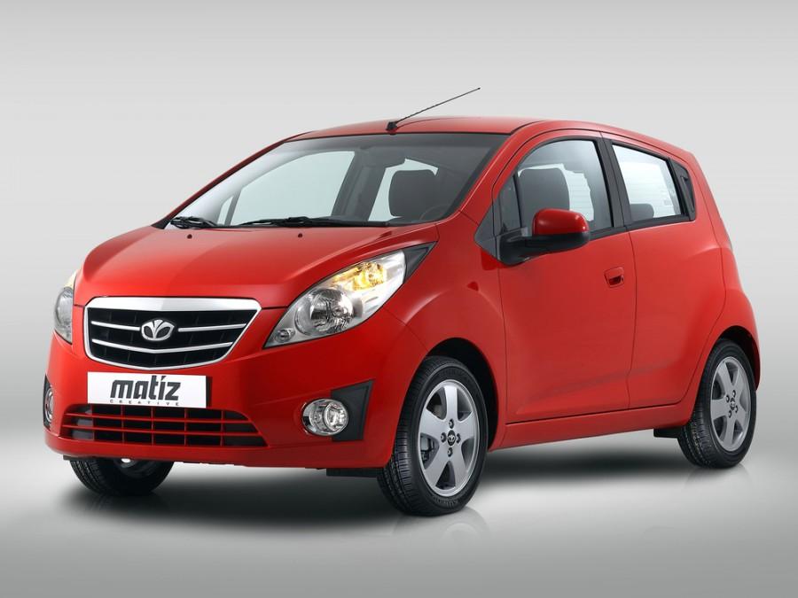 Daewoo Matiz хетчбэк, 2009–2011, M300 - отзывы, фото и характеристики на Car.ru