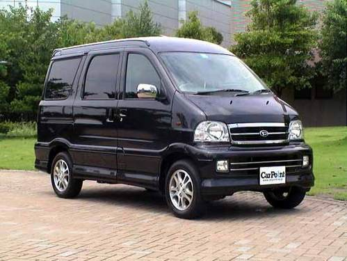 Daihatsu Atrai минивэн, 1999–2005, 4 поколение - отзывы, фото и характеристики на Car.ru