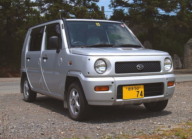 Daihatsu Naked хетчбэк, 2000–2004, 1 поколение - отзывы, фото и характеристики на Car.ru