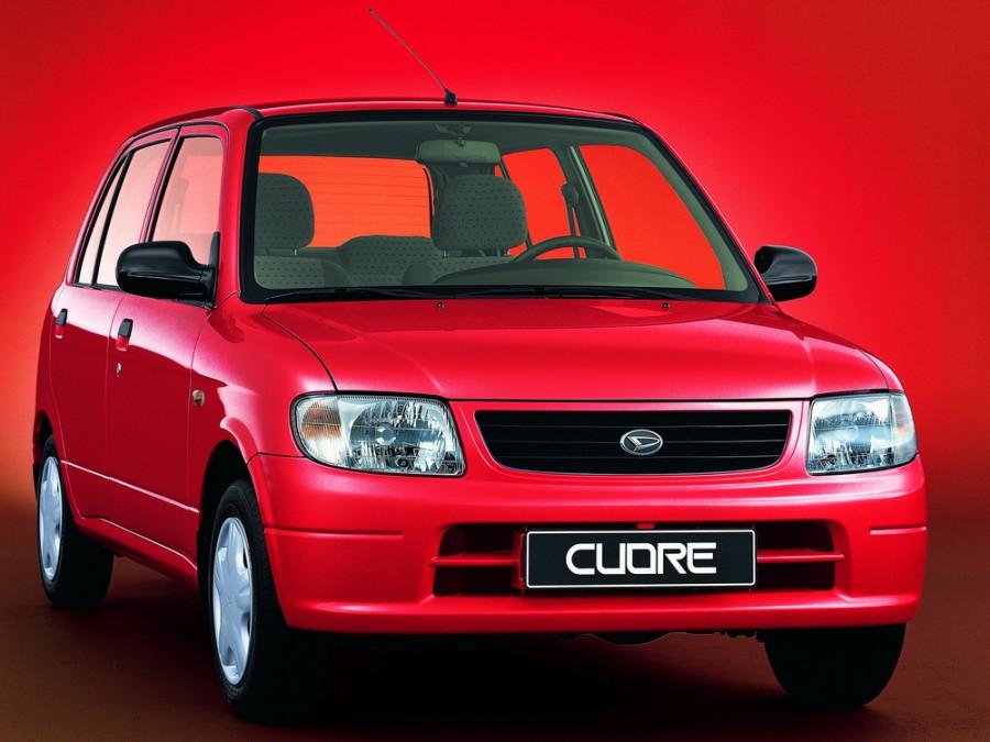 Daihatsu Cuore 3d хетчбэк, 1998–2003, L700 - отзывы, фото и характеристики на Car.ru