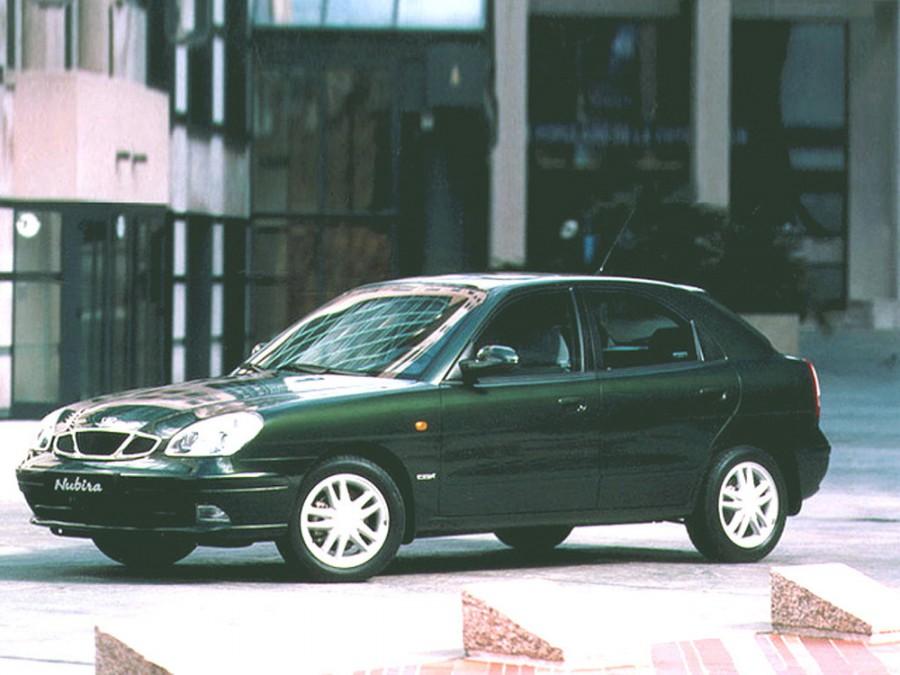 Daewoo Nubira хетчбэк, 1999–2004, J150/J190 [рестайлинг] - отзывы, фото и характеристики на Car.ru