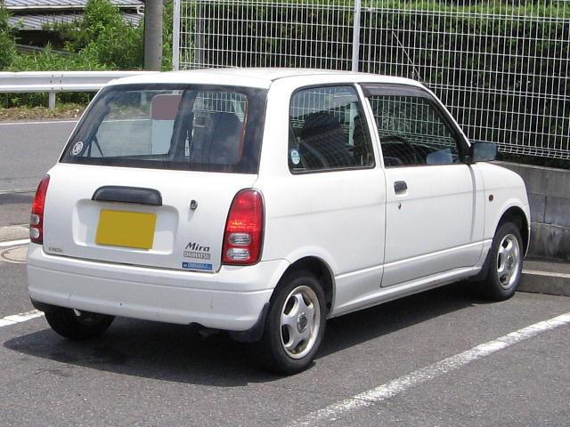 Daihatsu Mira хетчбэк, 1998–2002, 5 поколение, 0.7 MT (48 л.с.), характеристики