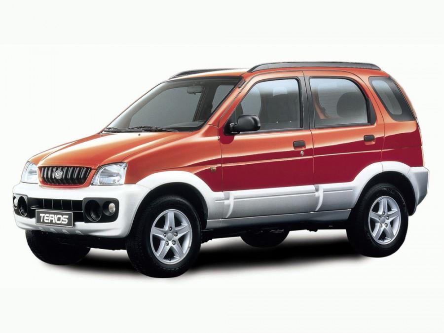 Daihatsu Terios кроссовер, 2000–2005, 1 поколение [рестайлинг] - отзывы, фото и характеристики на Car.ru