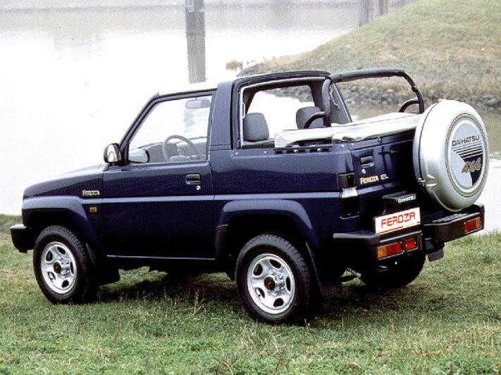 Daihatsu Feroza Soft top кабриолет, 1994–1999, 1 поколение [рестайлинг] - отзывы, фото и характеристики на Car.ru