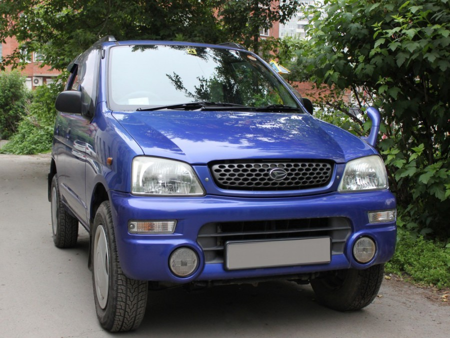 Daihatsu Terios KID кроссовер 5-дв., 1997–2000, 1 поколение - отзывы, фото и характеристики на Car.ru