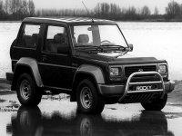 Daihatsu Rocky, 3 поколение, Hard top внедорожник, 1993–1998