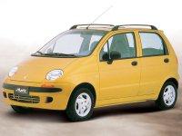 Daewoo Matiz, M100, Хетчбэк, 1998–2001