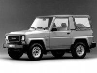 Daihatsu Rocky, 2 поколение, Soft top кабриолет, 1987–1992