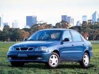 Daewoo Lanos, T100, Седан, 1997–2001