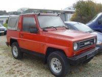 Daihatsu Rocky, 1 поколение, Soft top кабриолет, 1984–1987