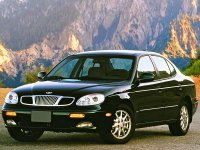 Daewoo Leganza, 1 поколение, Седан, 1997–2002