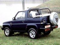 Daihatsu Feroza, 1 поколение [рестайлинг], Soft top кабриолет, 1994–1999