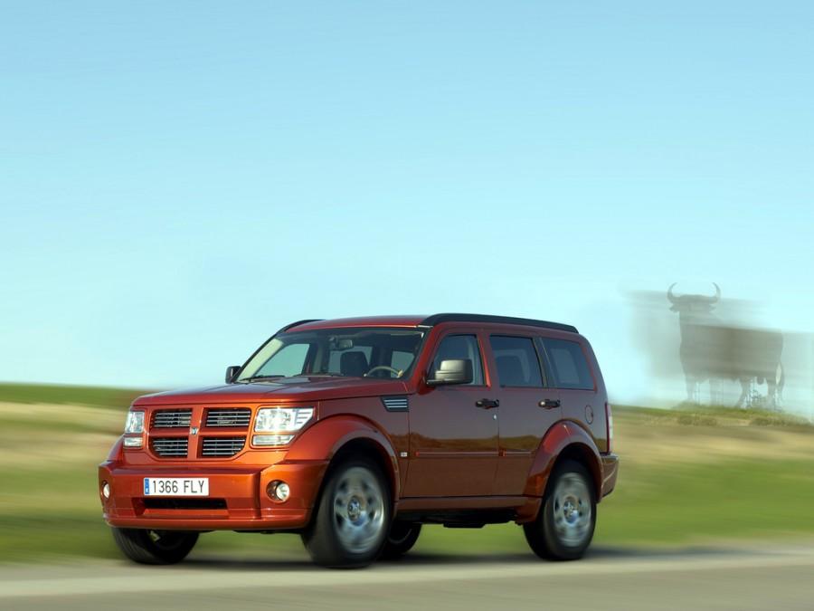 Dodge Nitro внедорожник, 2007–2010, 1 поколение - отзывы, фото и характеристики на Car.ru