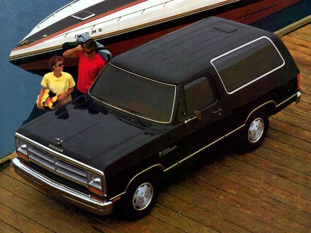 Dodge Ramcharger внедорожник, 1987–1993, 2 поколение - отзывы, фото и характеристики на Car.ru
