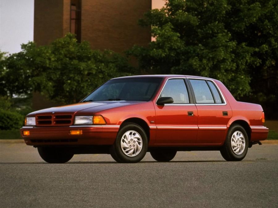 Dodge Spirit седан, 1988–1995, 1 поколение - отзывы, фото и характеристики на Car.ru