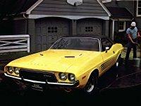 Dodge Challenger, 1 поколение [2-й рестайлинг], Rallye хардтоп, 1972