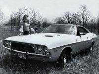 Dodge Challenger, 1 поколение [2-й рестайлинг], Хардтоп, 1972