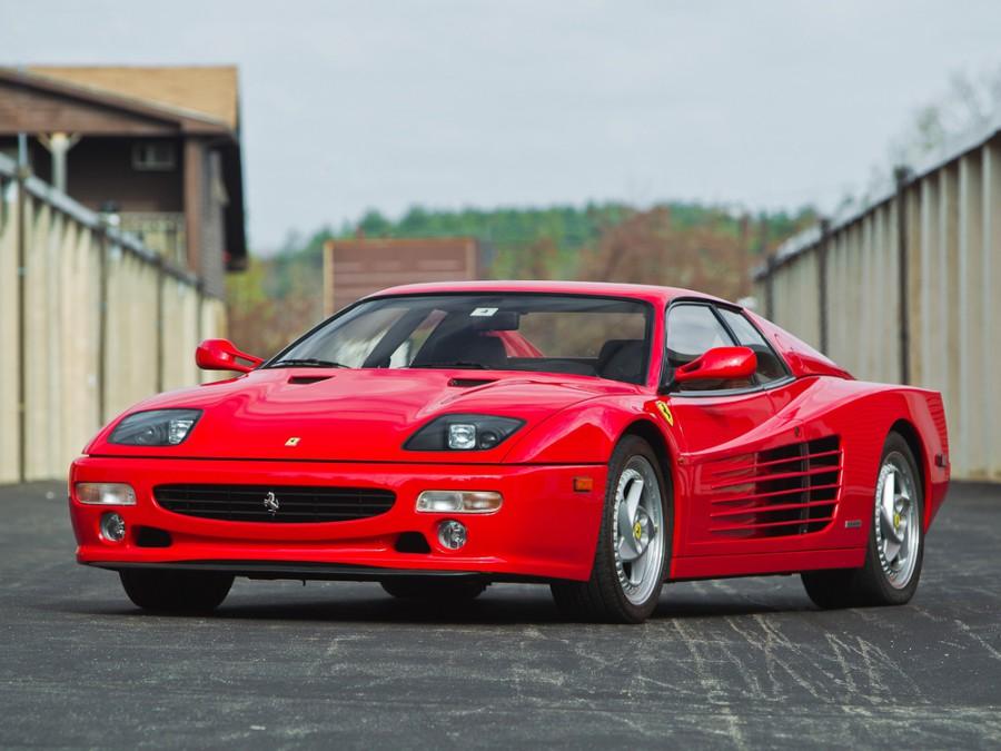 Ferrari Testarossa купе, 1994–1996, F512 M - отзывы, фото и характеристики на Car.ru