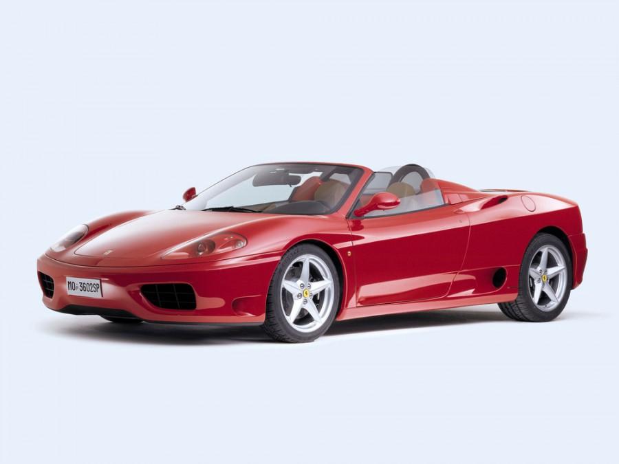 Ferrari 360 Spider родстер, 1999–2004, 1 поколение - отзывы, фото и характеристики на Car.ru