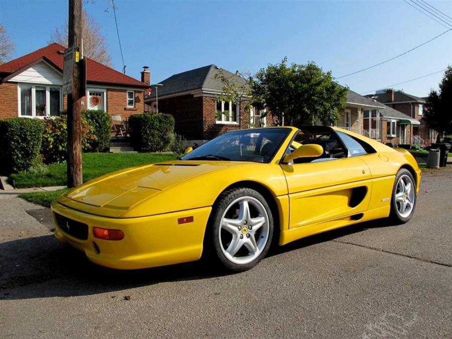 Ferrari F355 GTS тарга, 1994–1999, 1 поколение - отзывы, фото и характеристики на Car.ru
