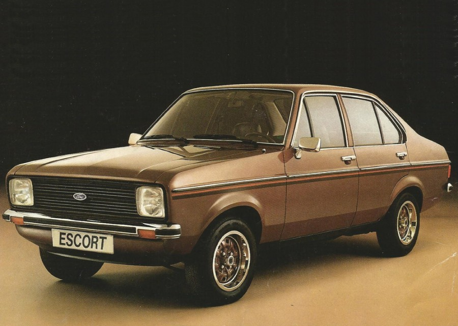 Ford Escort седан, 1978–1981, 2 поколение [рестайлинг] - отзывы, фото и характеристики на Car.ru