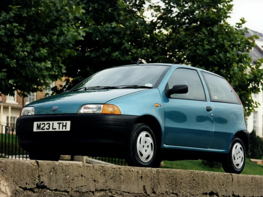 Fiat Punto хетчбэк, 1993–1999, 1 поколение - отзывы, фото и характеристики на Car.ru