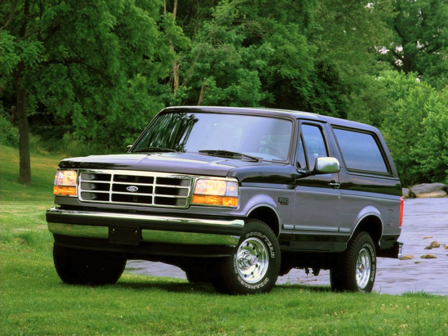 Ford Bronco внедорожник, 1992–1998, 5 поколение - отзывы, фото и характеристики на Car.ru