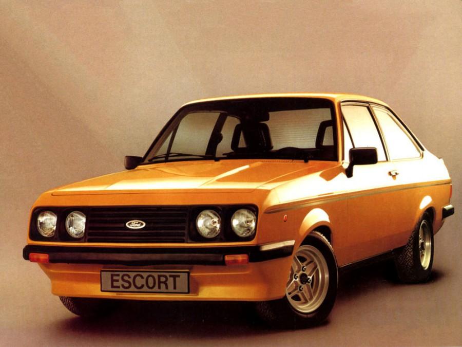 Ford Escort RS купе 2-дв., 1978–1981, 2 поколение [рестайлинг] - отзывы, фото и характеристики на Car.ru