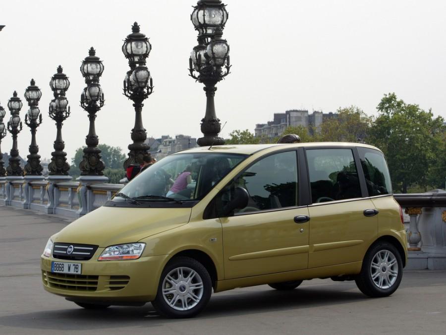 Fiat Multipla минивэн, 2005–2016, 2 поколение - отзывы, фото и характеристики на Car.ru