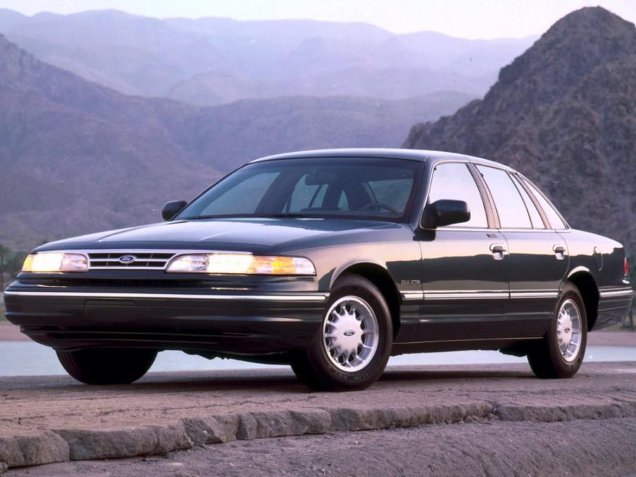 Ford Crown Victoria седан, 1990–1999, 1 поколение - отзывы, фото и характеристики на Car.ru