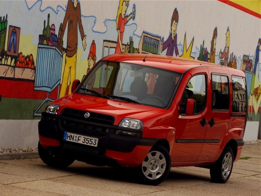 Fiat Doblo минивэн, 2001–2005, 1 поколение - отзывы, фото и характеристики на Car.ru