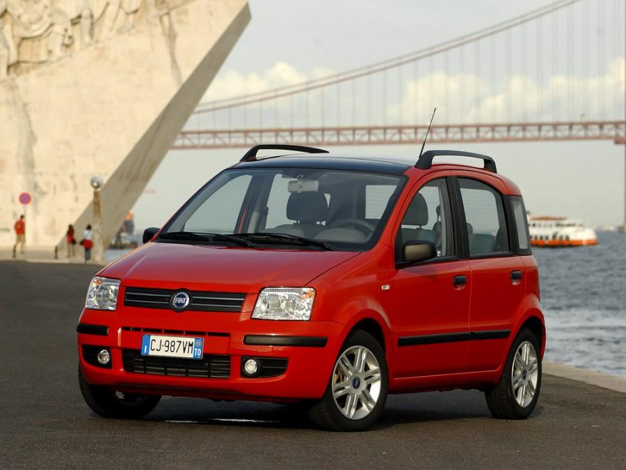 Fiat Panda хетчбэк 5-дв., 2003–2011, 2 поколение - отзывы, фото и характеристики на Car.ru