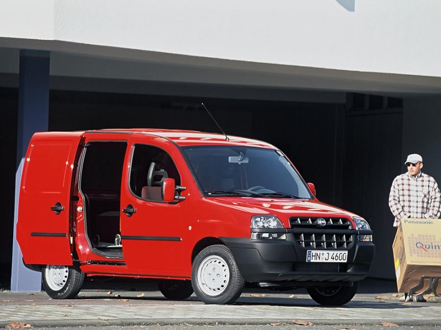 Fiat Doblo фургон, 2001–2005, 1 поколение - отзывы, фото и характеристики на Car.ru