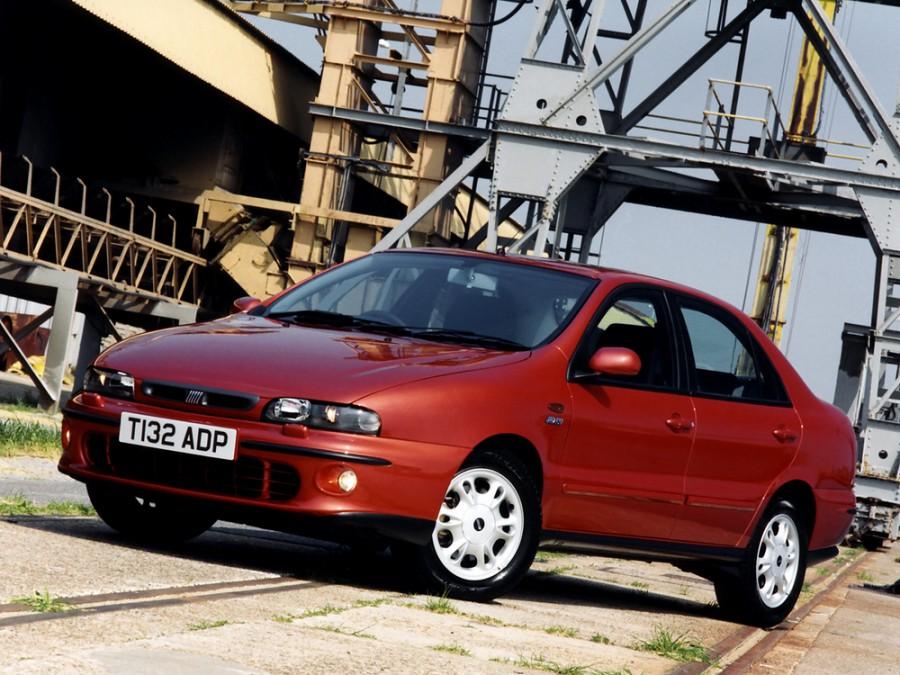 Fiat Marea седан, 1996–2001, 1 поколение - отзывы, фото и характеристики на Car.ru