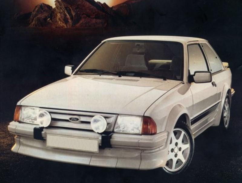 Ford Escort RS хетчбэк 3-дв., 1980–1986, 3 поколение - отзывы, фото и характеристики на Car.ru