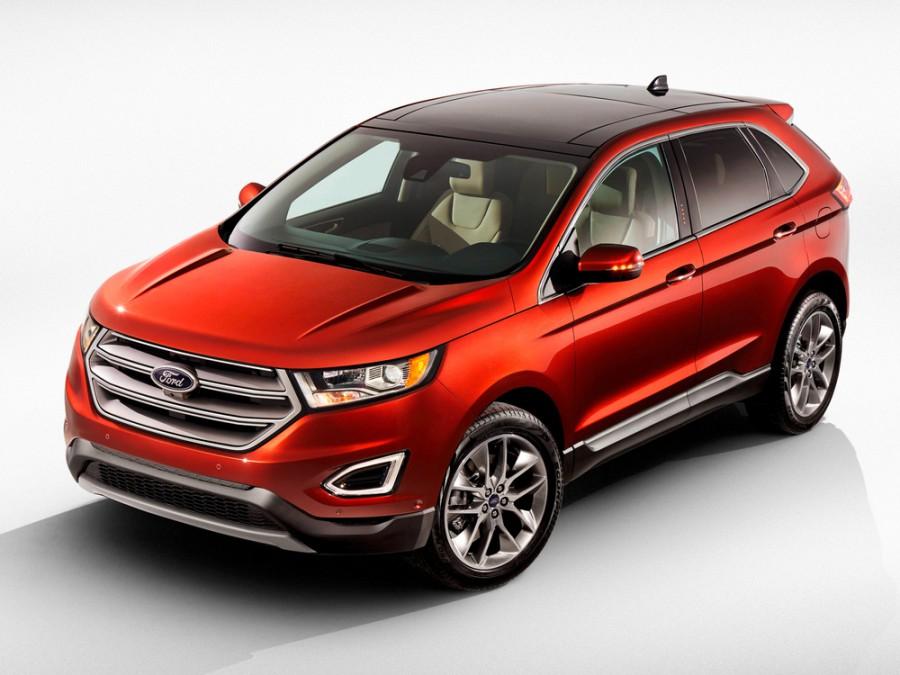 Ford Edge кроссовер, 2 поколение - отзывы, фото и характеристики на Car.ru